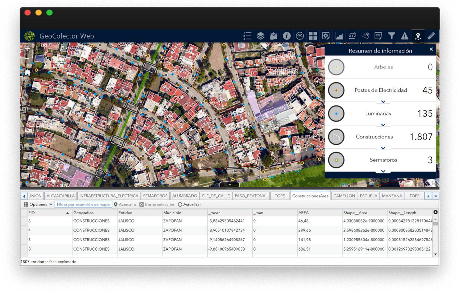 WebGIS Online Mapping Tool